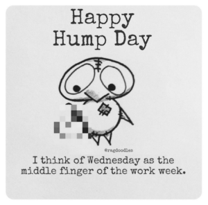 Take that Wednesday! Quote credit:  Someecards
