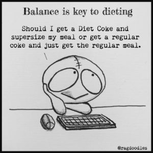 Balance is the key ingredient to a successful diet