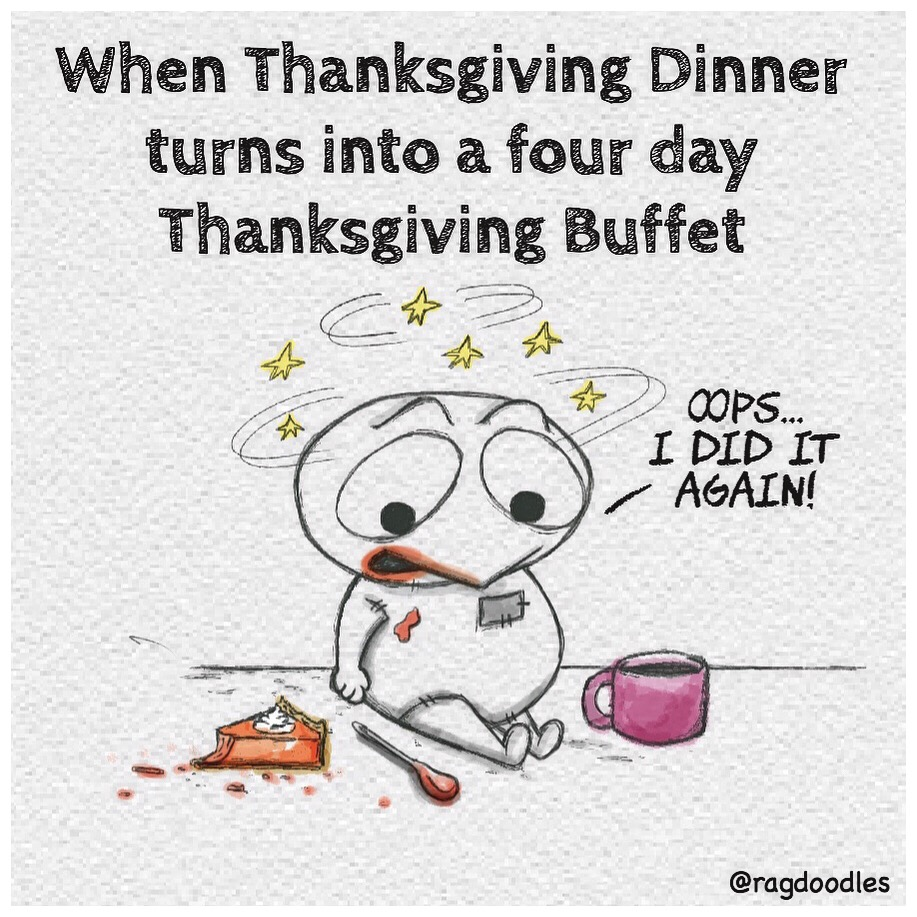 Monday after Thanksgiving Weekend - Ragdoodles.com